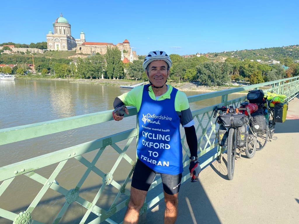 Iraj – Cycling from Oxford to Tehran Update #1